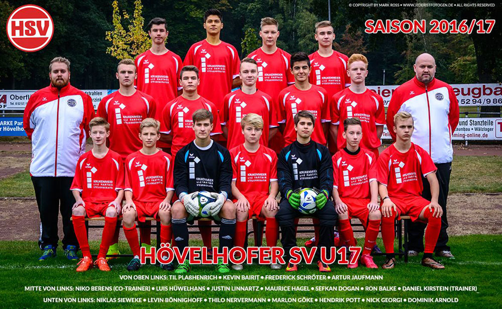 HSV B Jugend 2016/2017